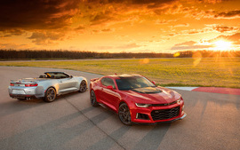 2017 Chevrolet Camaro ZL1... wallpaper