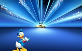 Animation donald duck disney games wallpaper