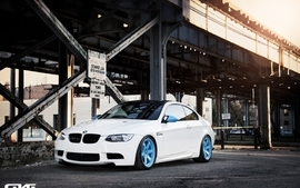 Blue bmw cars wheels bmw m3 wallpaper
