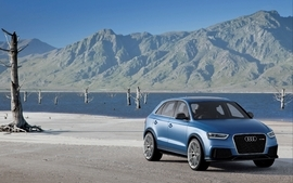 Blue mountains cars audi rivers suv blue cars german cars audi wallpaper