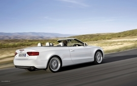 Cars audi a5 cabrio wallpaper