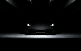 Cars lamborghini headlights wallpaper