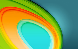Colorful Circles 4K 5K wallpaper