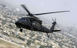 Helicopters chopper uh60 black hawk wallpaper