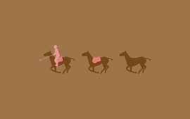 Minimalistic evolution horses backgrounds polo wallpaper