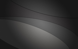 Minimalistic gray curves wallpaper