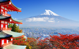 Mount Fuji Japan Highest... wallpaper