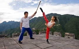 Movies celebrity jackie chan jaden smith the karate kid wallpaper