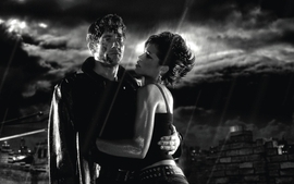 Movies sin city grayscale clive owen wallpaper