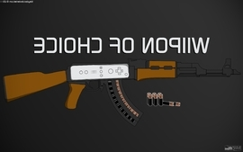 Nintendo wii ak47 wallpaper
