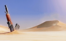Rifle video games sand army desert uncharted 3 aks74u wallpaper