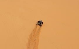 Sand desert sports buggy wallpaper