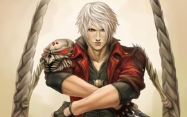 Video games devil may cry dante artwork wallpaper