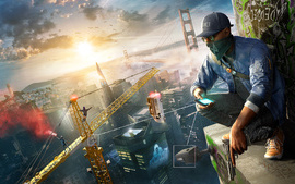 Watch Dogs 2 Game wallpaper