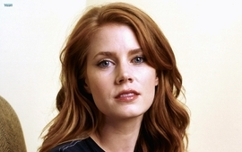 Women redheads amy adams lipstick makeup wallpaper